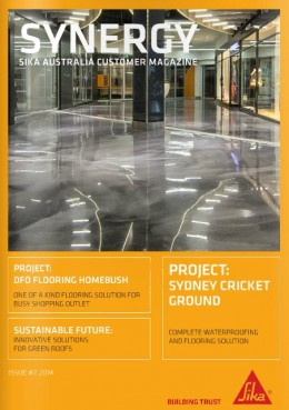Sika Synergy Front Page